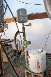 A kondenzációs kazán gyorsan melegíti a vizet