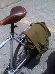 Ötletes kerékpár táska